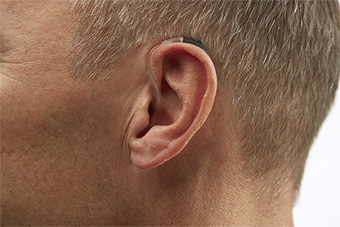 Slim Tube Behind-the-Ear (BTE) Hearing aid style