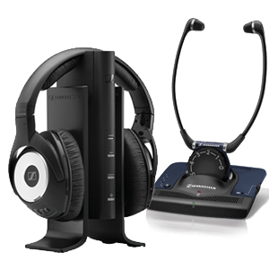 boosting music and tv Sennheiser Headphones and Stethoset