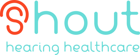 Shout Hearing Healthcare logo